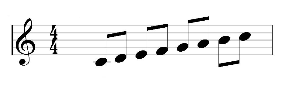 Las notas musicales y el pentagrama - adrifersa.com