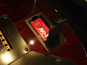 Pastillas - compartimento para colocar la pila